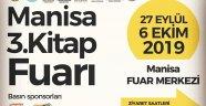 Manisa 3. Kitap Fuarı / 27 Eylül - 6 Ekim 2019 tarihleri arasında.