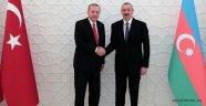 Başkan Erdoğan Aliyev'i kutladı!
