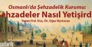 Osmanlı'da Şehzadelik Kurumu: Şehzadeler Nasıl Yetişirdi?