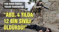 ABD,Irak ve Suriye'de 12 bin sivili öldürdü!
