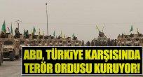 ABD Türkiye Sınırında Terör Örgütü Kuruyor