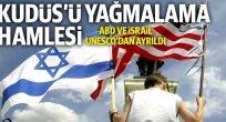ABD ve İsrail, Kudüs'ü yağmalamaya çalışıyor