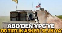 ABD'den YPG'ye askeri sevkiyat