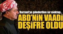 ABD'nin Barzani'ye vaadi deşifre oldu