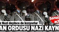 Alman ordusu Nazi kaynıyor