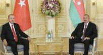 Başkan Erdoğan Azerbaycan'da resmi törenle karşılandı