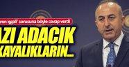 """Çavuşoğlun'dan 'Ege Adaları' açıklaması"""",Ege'de bazı adacık ve kayalıkların"""
