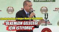 Cumhurbaşkanı Erdoğan Manisa'daydı