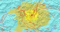 Deprem, çok güçlü olarak hesaplanmıştır