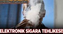 Elektronik sigara kanser yapıyor.
