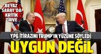 Erdoğan'dan Trump'a: YPG'nin muhatap alınması mutabakata aykırı