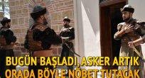 Ertuğrul Gazi Türbesi'nde asker 'Alp' kıyafetiyle saygı nöbeti tutacak