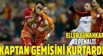 Galatasaray nefes aldı