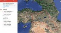 Google harita üzerinden Türkiye'yi böldü!