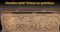 HERAKLES LAHDİ TÜRKİYE'YE GETİRİLİYOR
