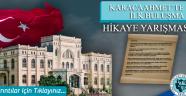 ''Karacaahmet'te İlk Buluşma'' Hikâye Yarışması Başlıyor!