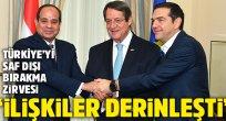 Kıbrıs'ta Türkiye'yi Akdeniz'de saf dışı bırakma zirvesi