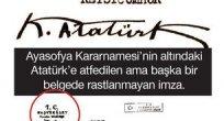 """Murat Bardakçı'dan """"Ayasofya Kararnamesi..."""" yazısı"""