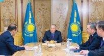 Nursultan Nazarbayev Türk Konseyi Genel Sekreteri Baghdad Amreyev'le görüştü