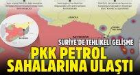 PKK'lı teröristler Deyrizor'da petrol sahalarına ulaştı
