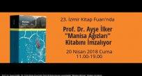 Prof. Dr. Ayşe İlker İzmir Kitap Fuarında