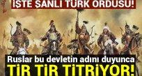 Rusları dize getiren Türk Hanlığı