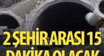 Sabuncubeli tüneli 2017'de açılacak