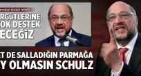 Salladığın parmaklara dikkat et Schulz!