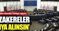 Skandal Türkiye raporu