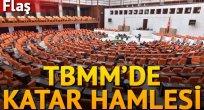 TBMM'de Katar hamlesi: Türkiye Katar askerine eğitim verecek