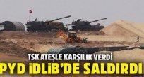 Terör örgütü PKK/PYD, İdlib'deki TSK gözlem noktasına havan topuyla saldırdı