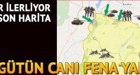 TERÖRİSTLER KAÇACAK DELİK ARIYOR!