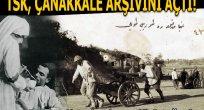 TSK'dan Çanakkale arşivi