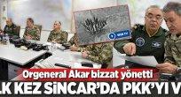 TSK'dan Sincar'a hava harekatı!.