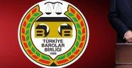 """TÜRKİYE BAROLAR BİRLİĞİNDEN """"ERMENİ KARARI""""NA TEPKİ"""