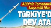 Türkiye'den balistik füze atağı.