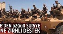Türkiye'den Özgür Suriye Polisine destek