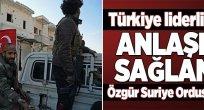 """Türkiye'nin gözetiminde """"Suriye Milli Ordusu"""" kuruldu"""