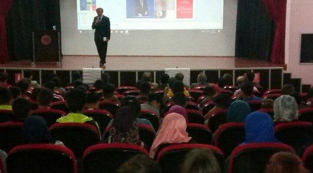 """Tarihçi-Yazar Naci YENGİN'den """"Kut'ül Amare Zaferi"""" Konferansı"""
