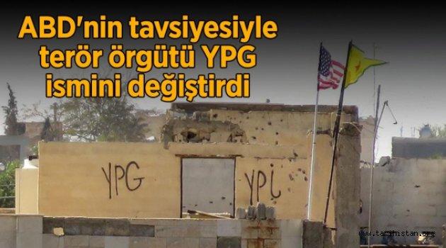 TERÖR ÖRGÜTÜ YPG İSMİNİ DEĞİŞTİRDİ