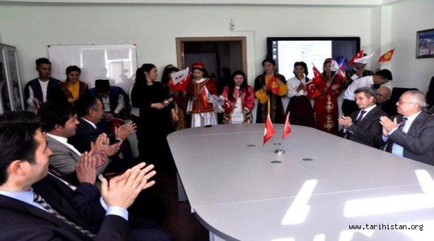 TİKA Kırgızistan'da Türk Dili ve Kültür Merkezi Kurdu