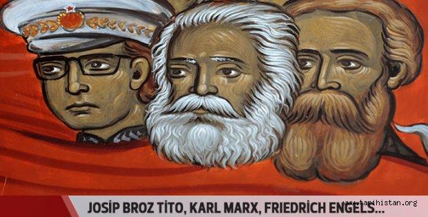 Tito, Marx ve Engels cehennemde!