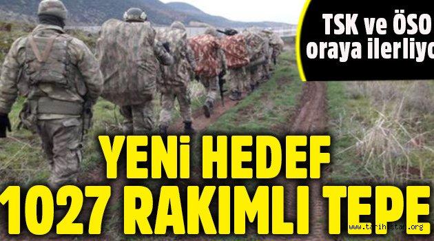 TSK ve ÖSO'nun Afrin'deki yeni hedefi