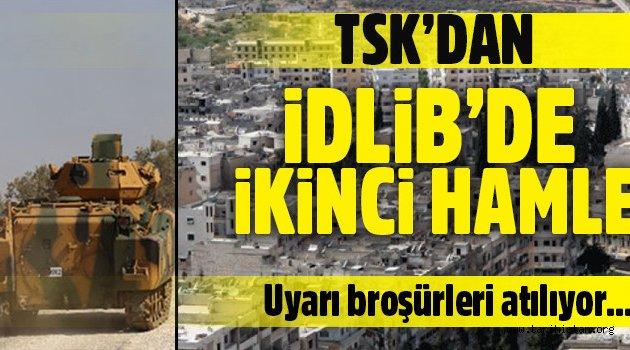 TSK'dan İdlib'de ikinci hamle
