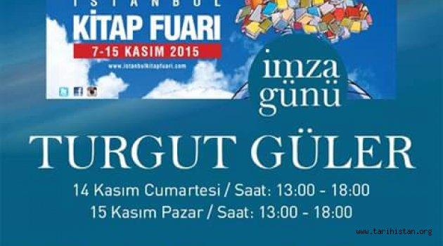 Turgut Güler 34. İstanbul Kitap Fuarında