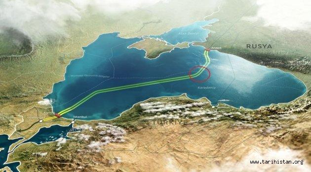 Türk Akımı Projesi 2019'da Türkiye'de