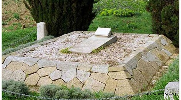 'Türk dostu' İngiliz subayın mezarı