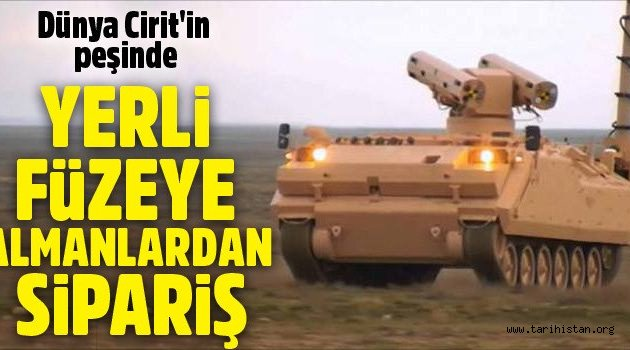 """Türk Füze """"Cirit"""""""