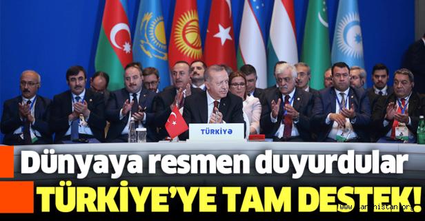 Türk Konseyi Barış Pınarı Harekatı'nda Türkiye'ye tam destek verdi