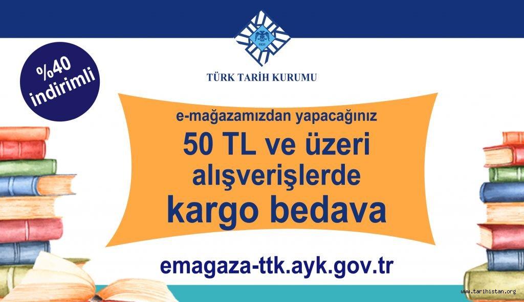 Türk Tarih Kurumu yayınlarında büyük indirim.
